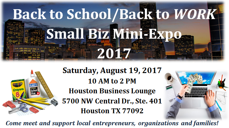 Back to School/Back to WORK Mini-Expo